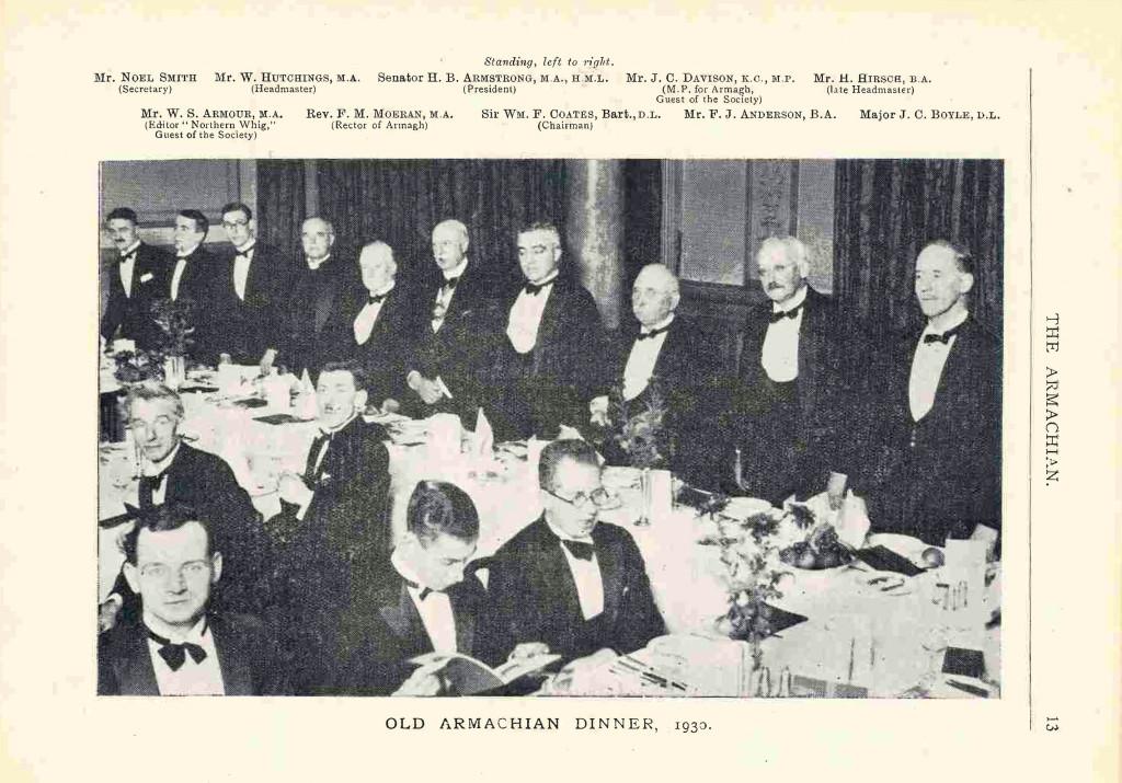 OAS Dinner 1930